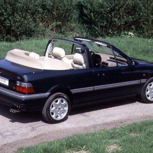 rover-216-214-cabriolet pvc avorio-nera (lunotto in pvc)