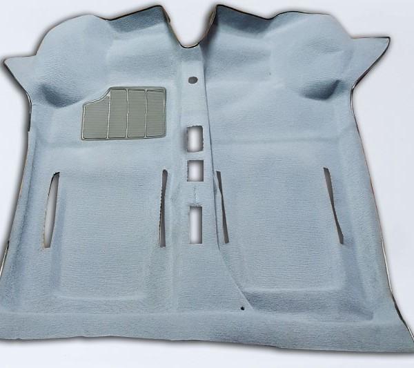 Tappeto preformato fiat 500 f l r moquette azzurro rm ricar for Moquette fiat 500 epoca